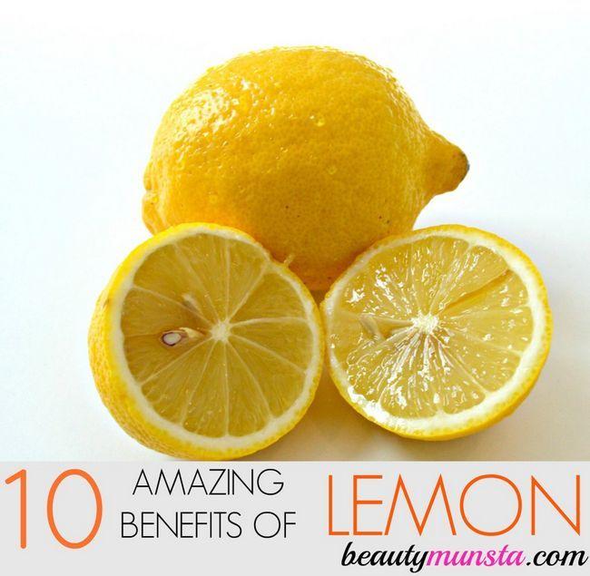 Fotografía - 10 Beneficios del limón increíbles para la piel