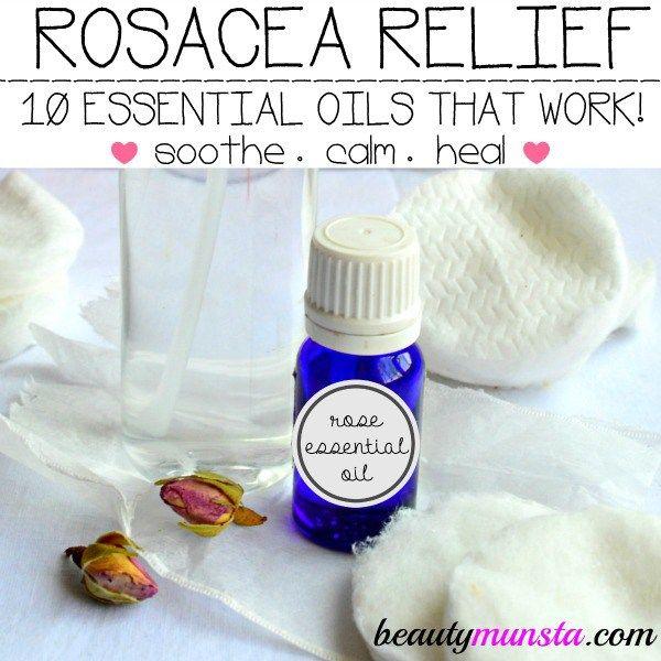 Fotografía - 10 Mejores Aceites Esenciales para Rosácea