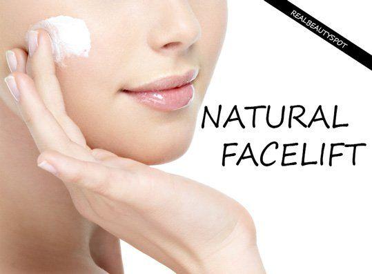 Natural al lavado de cara en casa