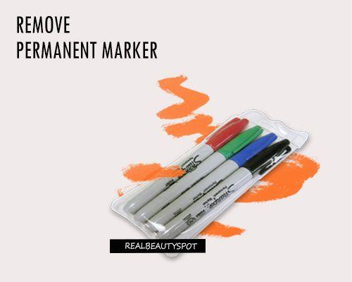 Fotografía - Maneras de eliminar marcador permanente de cualquier cosa