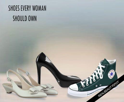 Fotografía - 10 Tipos de zapatos cada mujer debe tener