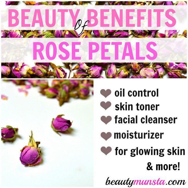 Fotografía - 11 Belleza Beneficios de los pétalos de Rose