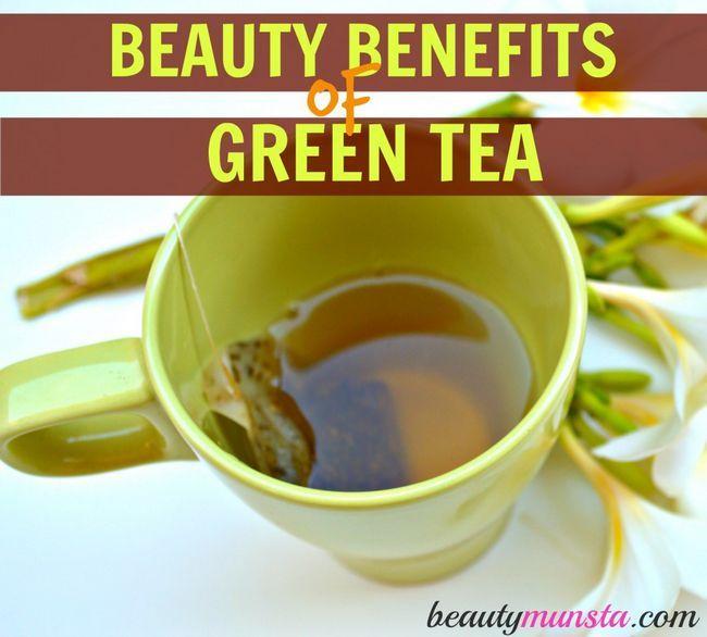 Fotografía - 15 Belleza beneficios del té verde