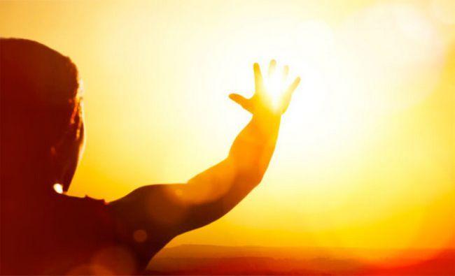 El calor del Sol