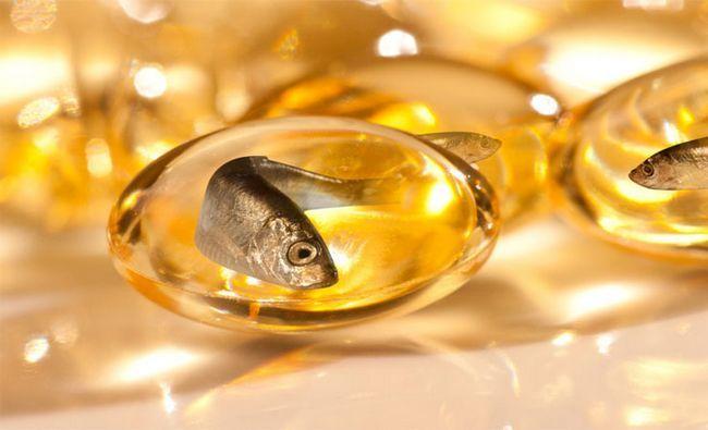 Aceite de pescado..