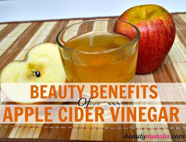 Fotografía - 20 Belleza Beneficios del vinagre de manzana