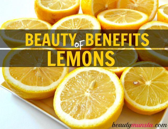 Fotografía - 20 Belleza Beneficios de Limón