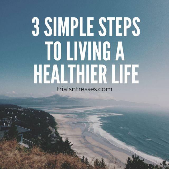 Fotografía - 3 pasos sencillos para vivir la vida un más sano