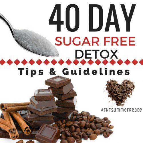 Fotografía - 40 Día Sin Azúcar Detox Consejos y Directrices #TNTSummerReady