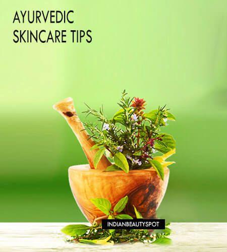 Fotografía - Consejos cuidado de la piel ayurvédica para la piel sana y radiante