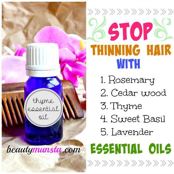 Fotografía - 5 aceites esenciales más eficaces para el adelgazamiento del cabello