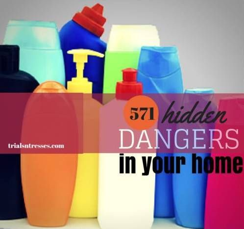 Fotografía - 571 peligros ocultos que oculta en su hogar