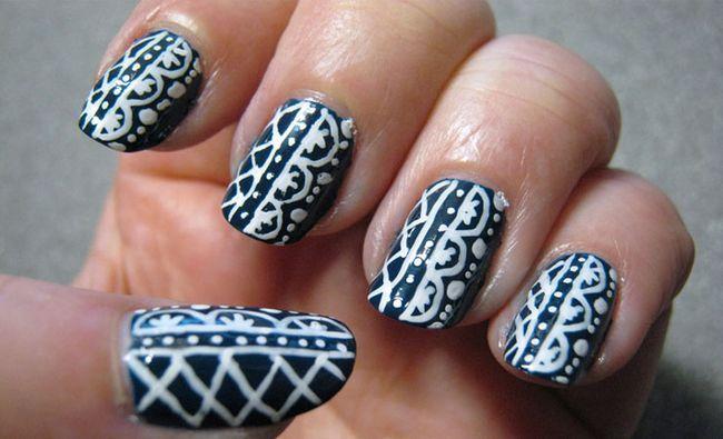 Fotografía - 7 fabulosos diseños de cinta de uñas