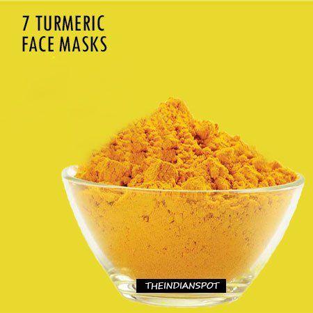 Fotografía - 7 mascarillas de cúrcuma para la piel hermosa