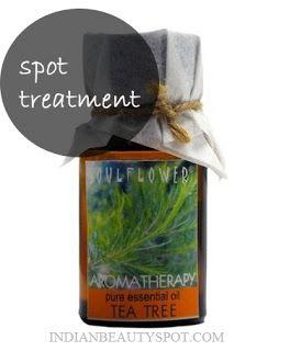 Fotografía - Tratamiento localizado Acné - El aceite del árbol del té