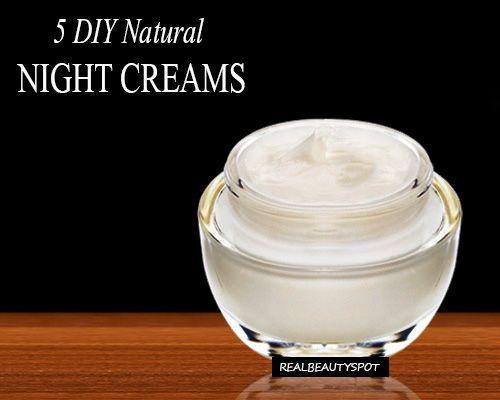 Fotografía - Las mejores cremas de noche hechos en casa para obtener una piel hermosa