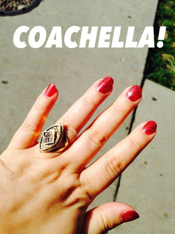 Fotografía - Coachella Esmalte de uñas de 100% puro