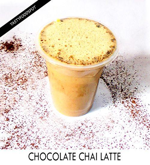 Fotografía - Deliciosa casera chai latte de chocolate