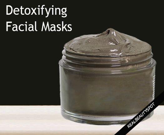 Fotografía - Desintoxicación mascarilla de arcilla facial para piel brillante