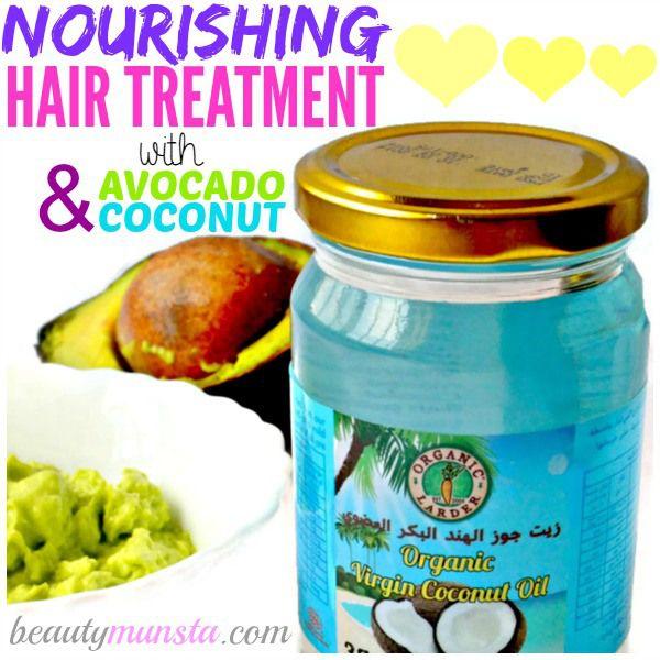 Fotografía - DIY aguacate y aceite de coco de pelo Máscara | Nutrir y reparación
