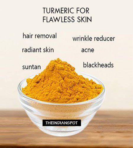 Fotografía - Excelentes recetas cuidado de la piel de la cúrcuma bricolaje para una piel perfecta