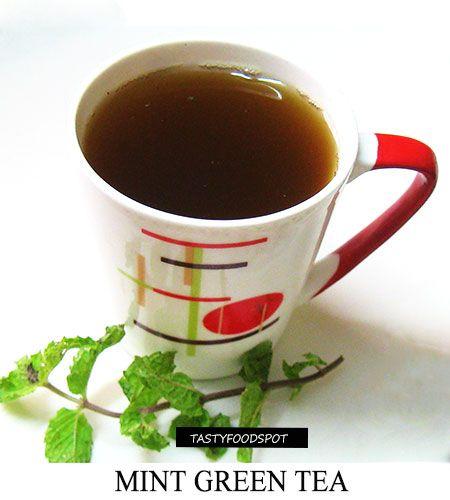 Fotografía - Menta marroquí sabrosa receta de té verde