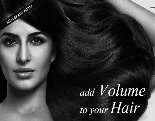 Fotografía - Cómo agregar volumen al cabello