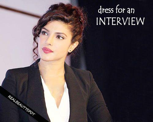 Fotografía - Cómo vestirse para una entrevista