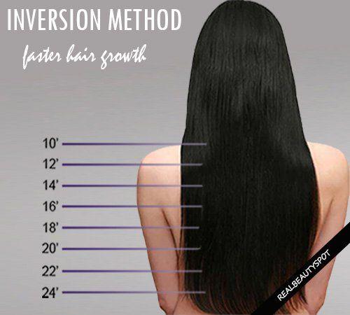 Fotografía - Método de inversión - crecer su pelo de 1 pulgada en una semana