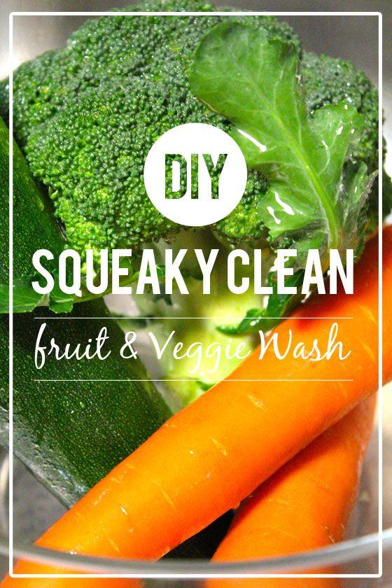 Fotografía - Haga su propia Fruit & Veggie Wash