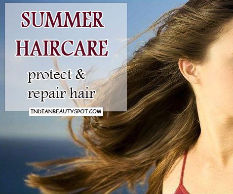 Fotografía - Consejos de cuidado del cabello Verano - proteger y reparar el cabello del sol