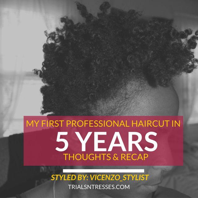Fotografía - Mi Primera Profesional de corte de pelo en 5 años
