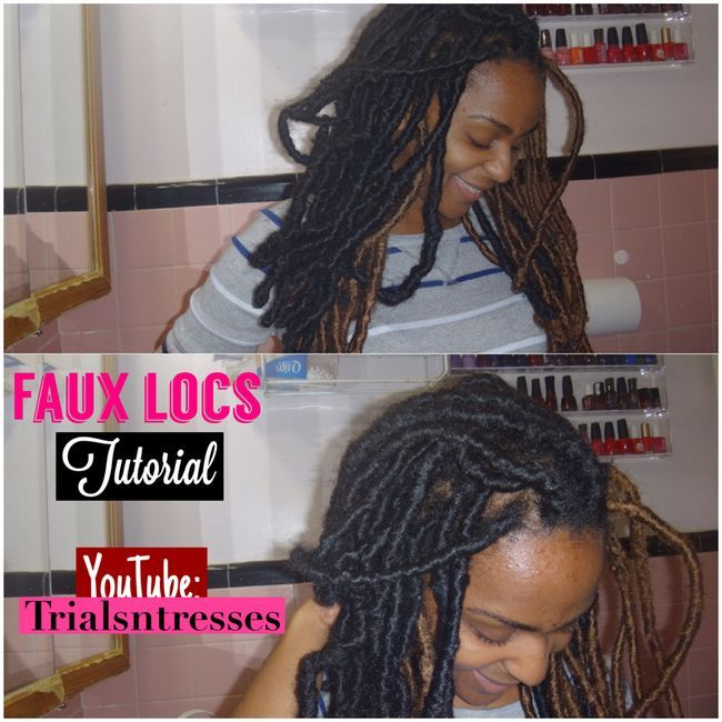 Fotografía - Cabello natural: Faux Loc Tutorial (Video)