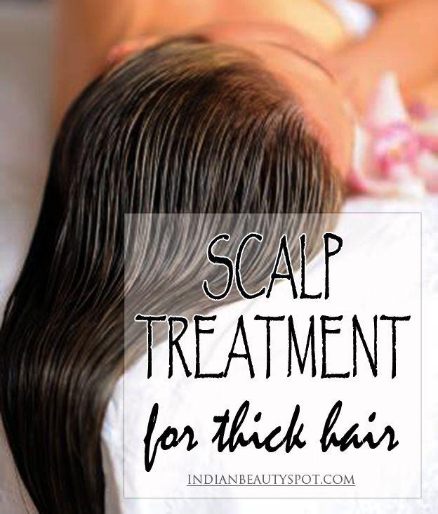 Fotografía - Tratamiento del cuero cabelludo natural para el cabello más grueso