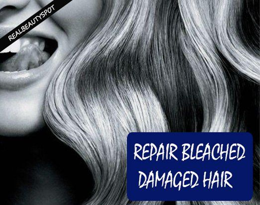 Fotografía - Tratamientos naturales para reparar el cabello dañado blanqueada