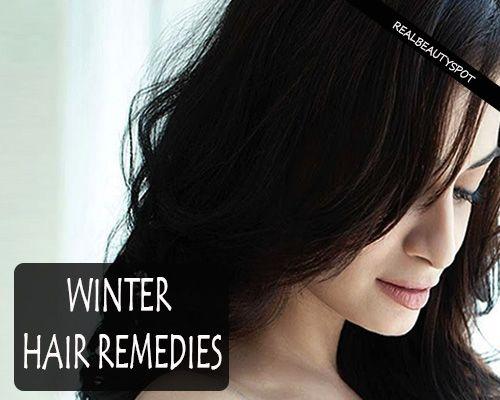 Fotografía - Remedios para el cabello de invierno Natural
