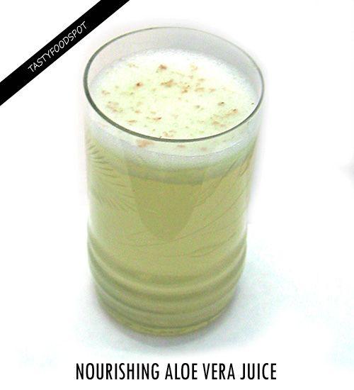 Fotografía - Aloe nutritiva receta jugo de vera