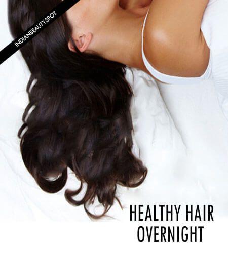 Fotografía - Cuidado del cabello durante la noche - despierte con el pelo sano perfecto