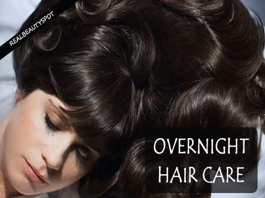 Fotografía - Tratamientos para el cabello durante la noche para un cabello hermoso