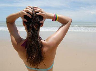Fotografía - Proteja su cuero cabelludo y el pelo en vacaciones