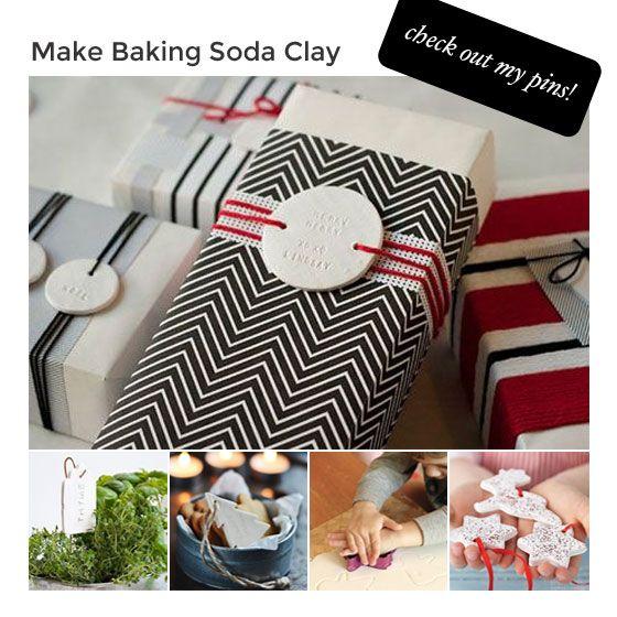 Hacer Bicarbonato de sodio Clay - tablero de Pinterest