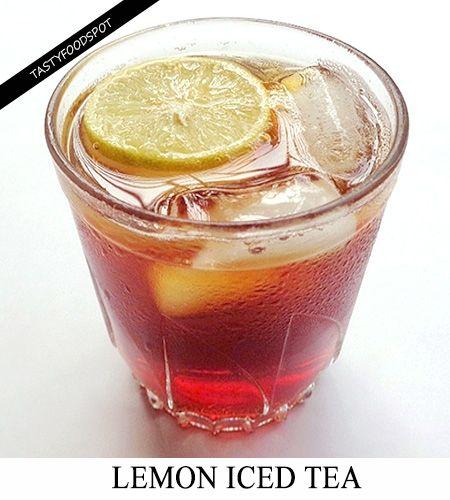 Fotografía - Refrescante de limón helado receta té