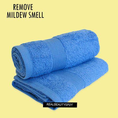 Fotografía - Retire olor a moho de las toallas y la ropa