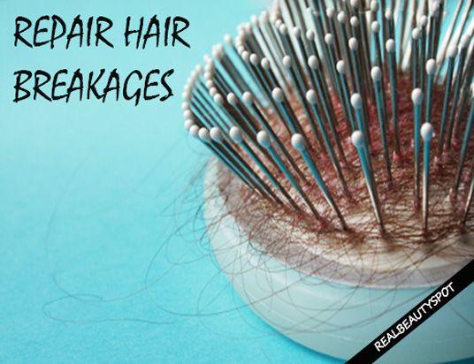 Fotografía - Reparación de la rotura del cabello en casa
