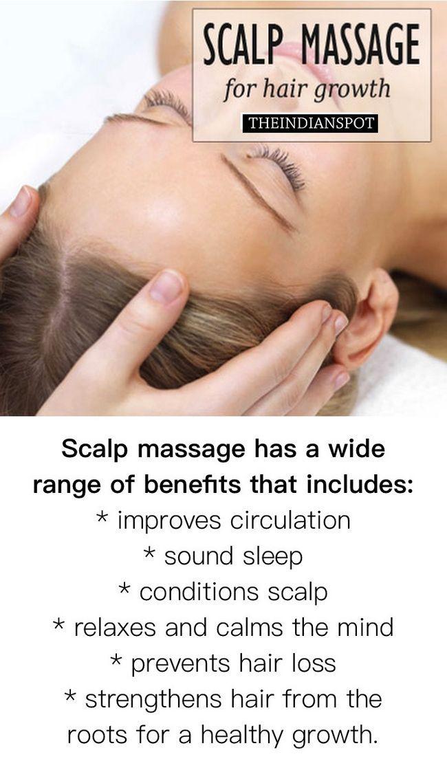 Fotografía - Beneficios del masaje del cuero cabelludo y el tratamiento para el crecimiento del cabello