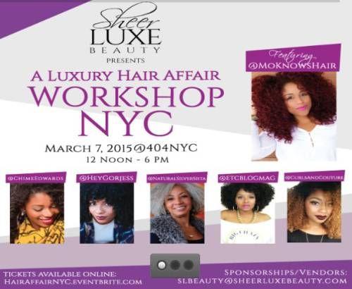 Fotografía - SheerLuxeBeauty Presenta A Luxury Hair Affair Taller NYC