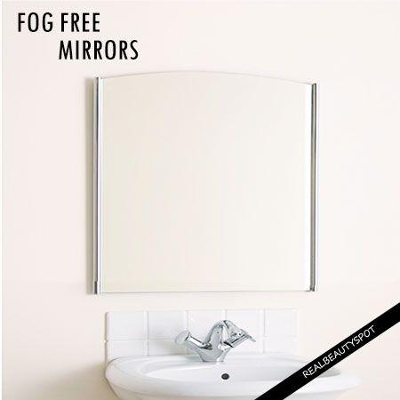 Fotografía - Formas sencillas para mantener sus espejos antivaho