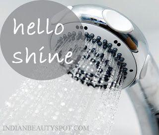 Fotografía - Cuidado del cabello Verano - fundamentos de ducha