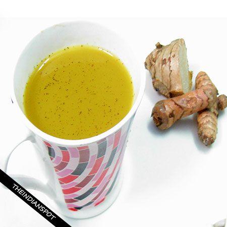 Fotografía - Jengibre sanación receta estupenda té de cúrcuma