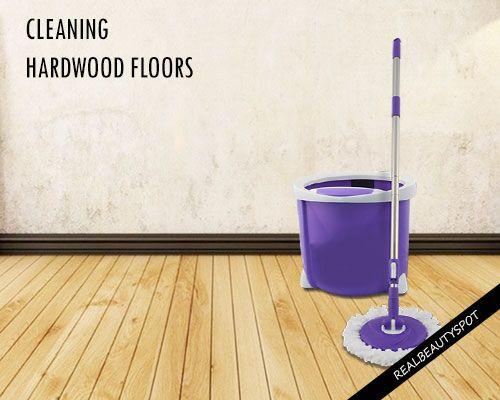Fotografía - Consejos y limpiadores naturales de bricolaje para la limpieza de pisos de madera